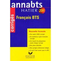 Annabts 2001 - Francais Bts Corriges