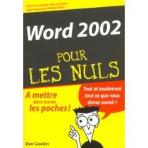 Word pour les nuls (édition 2002)