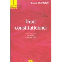 Droit constitutionnel (24e édition)