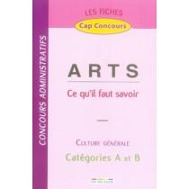 Arts - Ce qu'il faut savoir - Culture générale - Catégories A et B