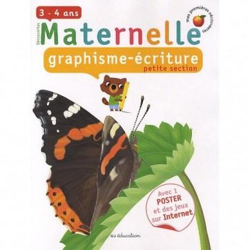 Graphism e/ Ecriture - Petite section de maternelle - 3/4 Ans