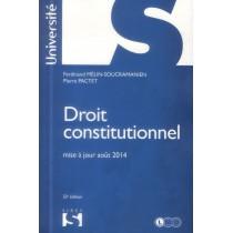 Droit constitutionnel - 33E édition