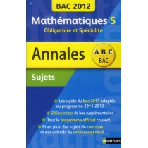 Mathématiques S - Obligatoire et spécialité (édition 2012)