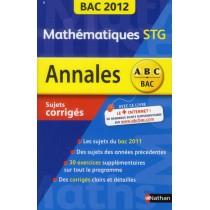 Mathématiques - STG (édition 2012)