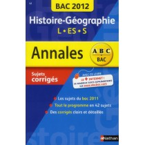 Histoire-géographie - Terminale L-ES-S (édition 2012)