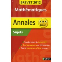Mathématiques - Brevet 2012