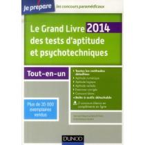 Le grand livre des tests d'aptitude et psychotechniques - Tout-en-un (5e édition)
