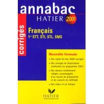 Annabac Francais (Series Technologiques) - Corriges 2001