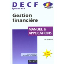 Decf 4 - Gestion Financiere - Manuel Et Applications - 11E Edition