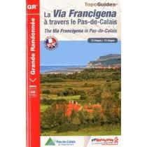 La via francigena en Pas-de-Calais - 62 - GR - 1451