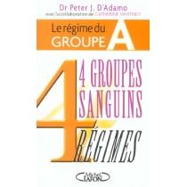 Le Regime Du Groupe A - 4 Groupes Sanguins 4 Regimes