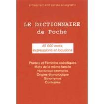 Le dictionnaire français de poche (45000 mots)