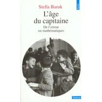 Age Du Capitaine. De L'Erreur En Mathematiques (L')