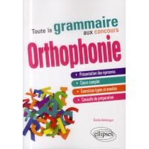 Toute la grammaire aux concours d'orthophonie
