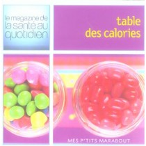 Table Des Calories