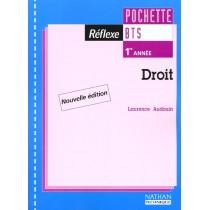 Droit Bts 1 - Pochette Reflexe - Livre De L'Eleve - Edition 2001