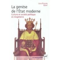 Iad - Genese De L'Etat Moderne