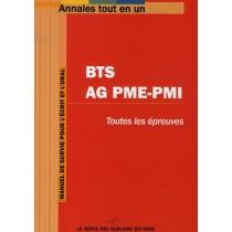 Annales tout-en-un - BTS AG PME-PMI - Toutes les épreuves