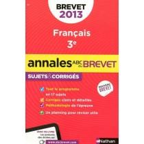 Annales du brevet 2013 - Français 3e - Sujets et corrigés n°27