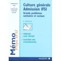 Culture Generale. Concours Ifsi. Grands Problemes Sanitaires Et Sociaux