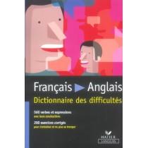 Dictionnaire Des Difficultes Francais-Anglais