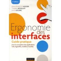 Ergonomie des interfaces - Guide pratique pour la conception des applications web, logicielles, mobiles et tactiles (5e édition)