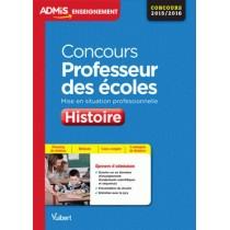 Concours professeur des écoles - Histoire - Mise en situation professionnelle - Concours 2015