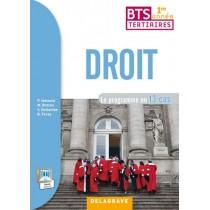Droit - 1Ere année de BTS - Pochette de l'élève