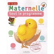 Tout le programme - Petite section de maternelle - 3/4 Ans
