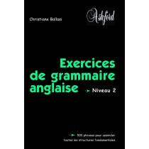 Exercices de grammaire anglaise - Niveau 2