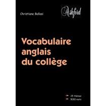 Vocabulaire anglais du collège