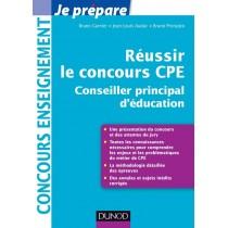 Réussir le concours CPE - Conseiller principal d'éducation