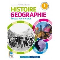 Histoire géographie éducation civique - 1Ere BAC PRO - Manuel de l'élève