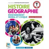 Histoire, géographie, enseignement moral et civique - Terminale bac pro - Manuel de l'élève (édition 2015)
