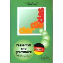 Der Die Das L'Essentiel De La Grammaire Rappels Grammaticaux Exercices Et Corriges Allemand