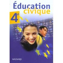 Education civique - 4Eme - Livre de l'élève (édition 2002)