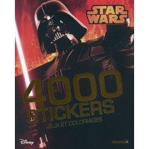 Disney - Star Wars - 4000 Stickers - Jeux et coloriages