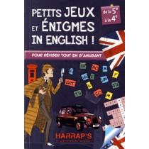 Petits jeux et énigmes in english - 5Em e/ 4Eme