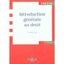 Introduction Generale Au Droit - 5E Edition