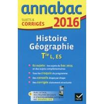 Histoire-géographie - Terminale L, ES (édition 2016)
