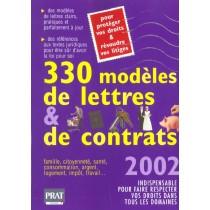 330 Modeles De Lettres Et De Contrats 2002
