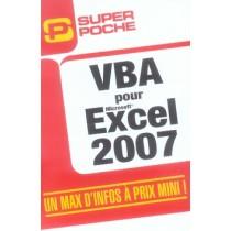 Vba pour excel 2007