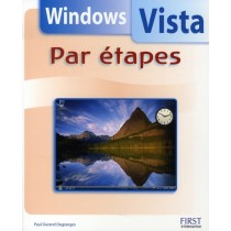 Windows vista par étapes