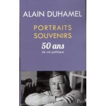 Portraits souvenirs - 50 Ans de vie politique