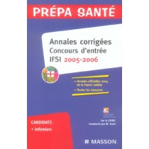 Annales Corrigees. Concours Ifsi 2005/2006