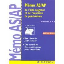 Memo A s/ Ap De L'Aide-Soignant Et De L'Auxiliaire De Puericulture - Modules 1 A 6