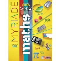 Mathématiques - Cycle 4 - Livret de cours 5e, 4e, 3e (édition 2016)