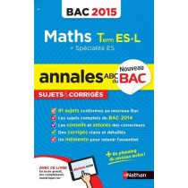 Annales Bac 2015 Maths Term Es