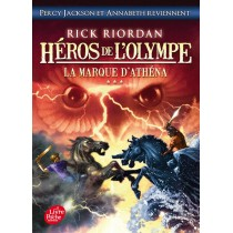 Héros de l'Olympe T.3 - La marque d'Athéna