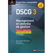 DSCG 3 - Management et contrôle de gestion - Manuel et applications (4e édition)